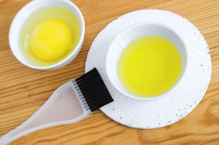 Een haarmasker met mayonaise maken