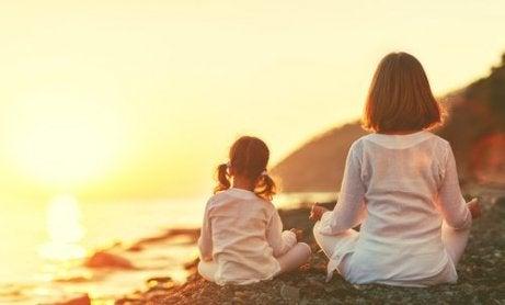 Yoga voor kinderen, een niet-competitieve sport