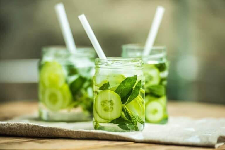 Komkommersap vermindert het risico op kanker