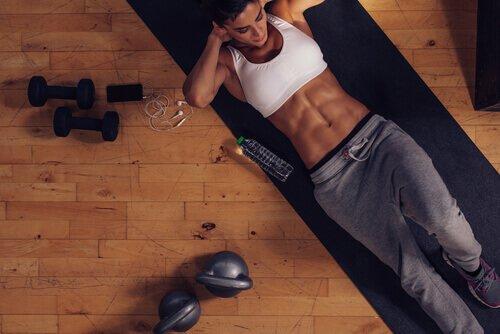 Oefeningen die niet helpen gewicht te verliezen