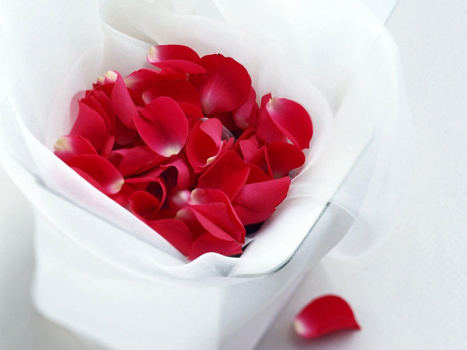 Eeuwenoude schoonheidstrucjes: rozenblaadjes