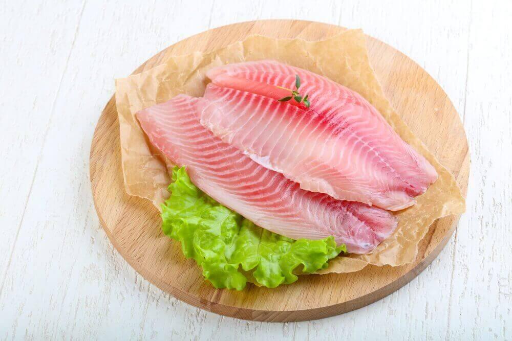 Vis helpt een gezond gezichtsvermogen