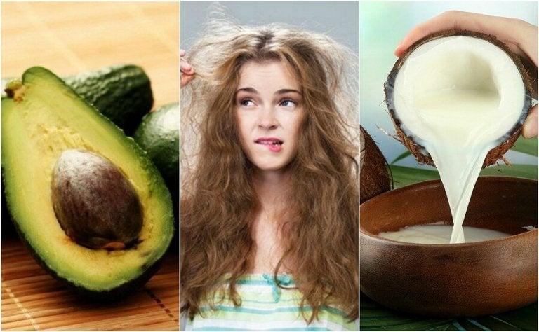 De 5 beste natuurlijke opties tegen pluizig haar