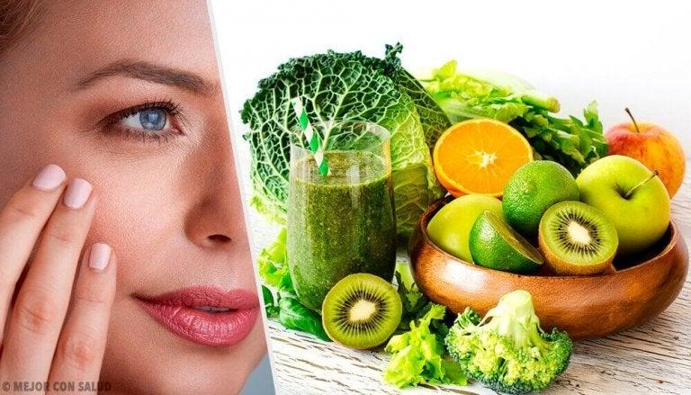 Fruit dat droge en gebarsten huid bestrijdt