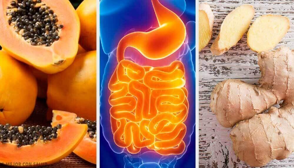De spijsvertering bevorderen met behulp van vruchten en kruiden