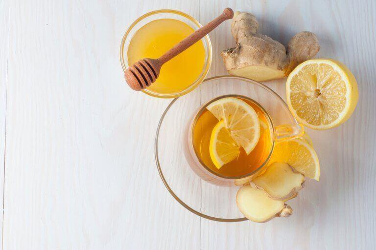 Gemberthee honing
