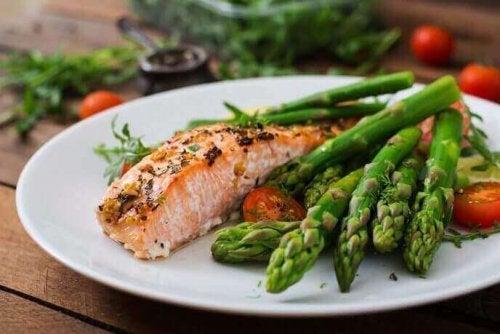 Zalm bevat omega 3-vetzuren