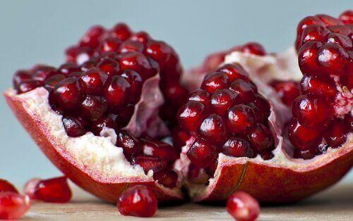 Gewicht verliezen met granaatappel