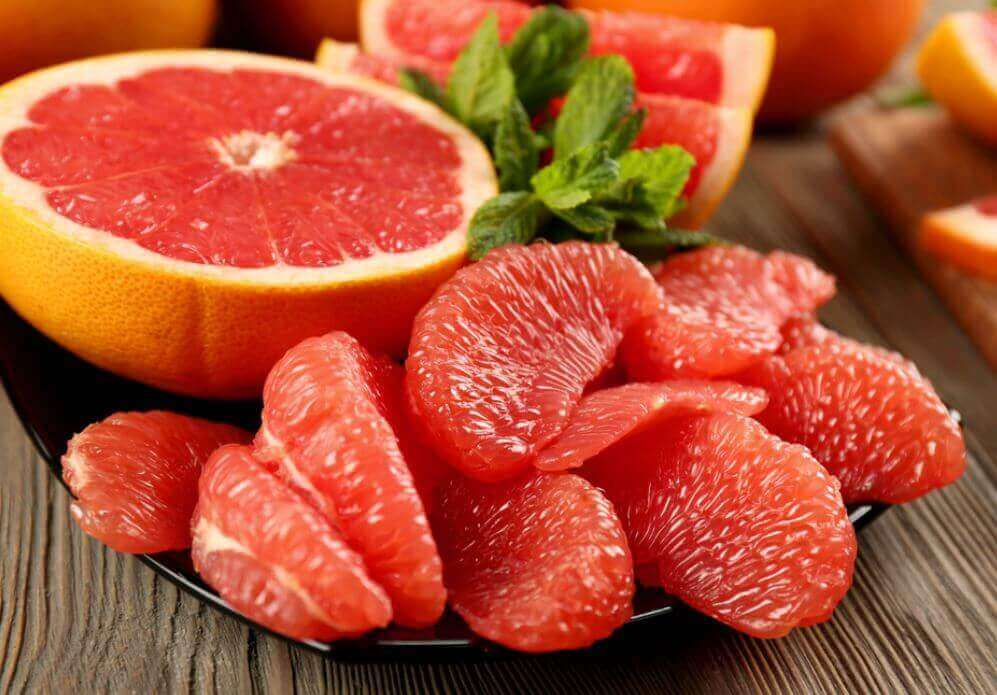 Grapefruit help vet perfect verbranden