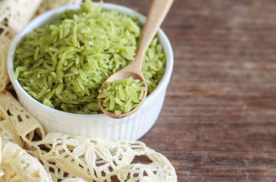 Probeer dit heerlijke recept voor groene rijst