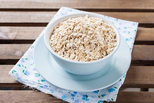 Haver is één van de glutenvrije voedingsmiddelen