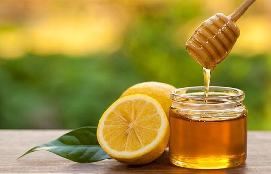 Honing met citroen