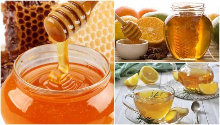 Vijf remedies met honing die goed zijn voor de gezondheid