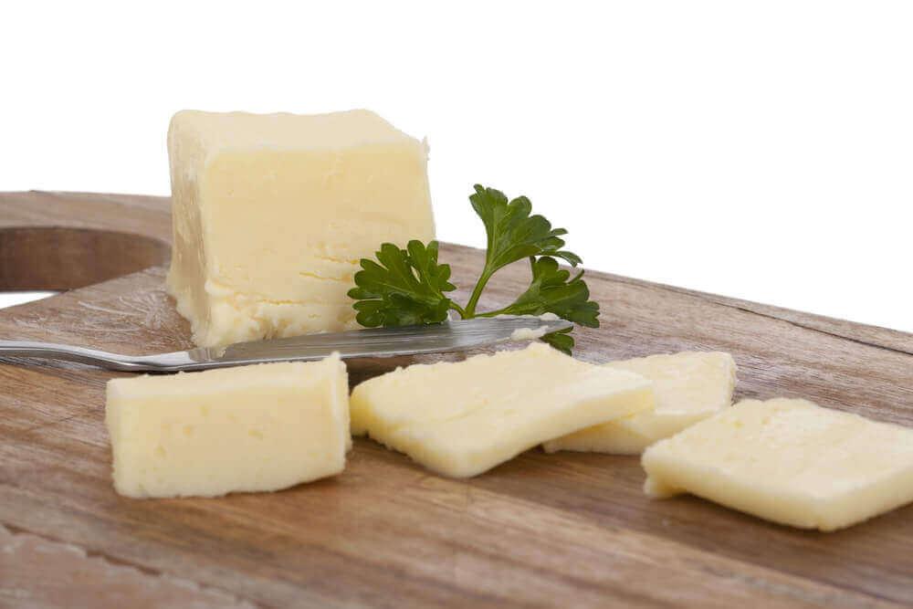 Te vermijden ongezonde voedingsmiddelen: margarine