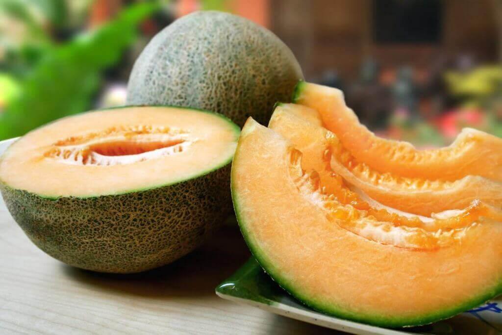 Antioxidante remedie met meloen, groene thee en citroen