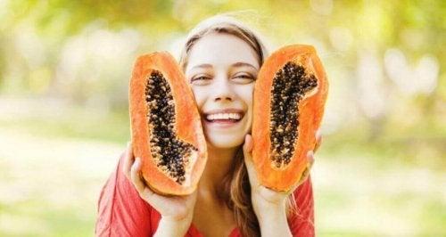 Eigenschappen van papaja