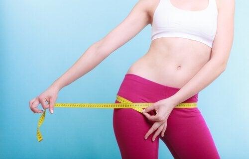 Planning om gewicht te verliezen