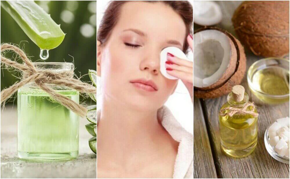 5 natuurlijke make-up removers die ook de huid verzorgen