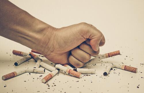 Stel een doel om van de slechte gewoonte af te komen