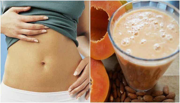 De positieve effecten van een smoothie van papaja en amandelmelk