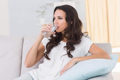 Veel water drinken heeft een positief effect op je lichaam