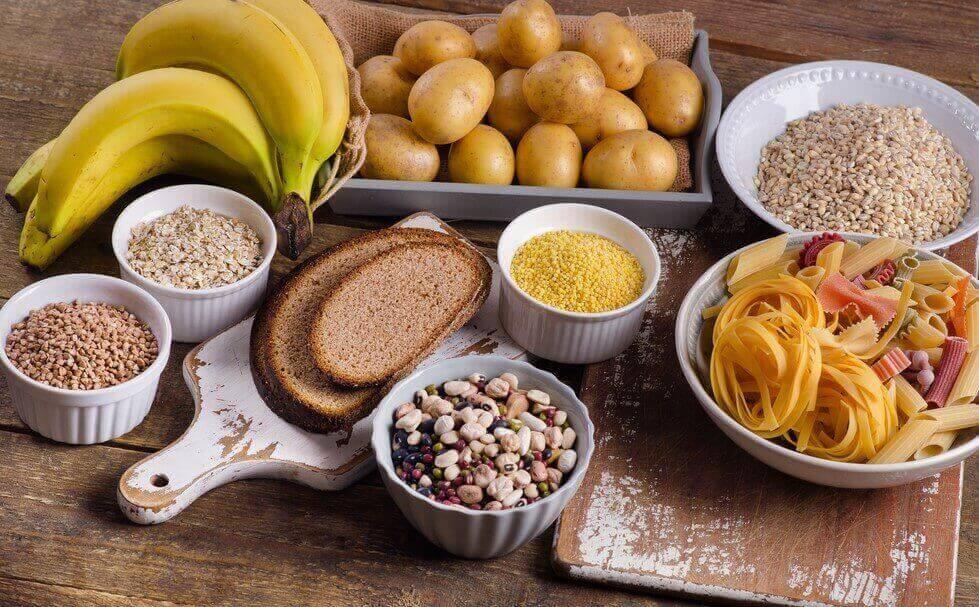 Koolhydraatrijk voedsel