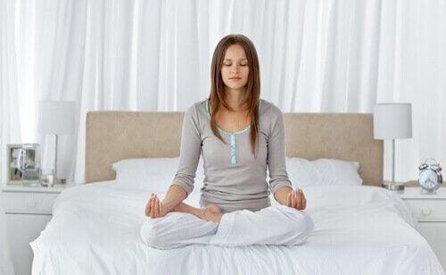 Mediteren om beter te slapen