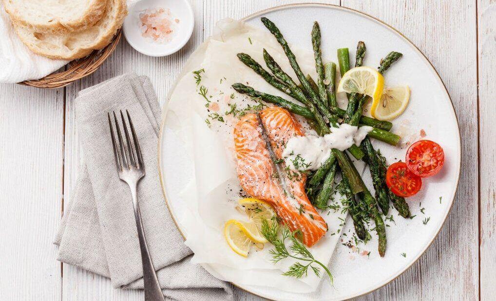 Weekmenu voor een koolhydraatarm dieet