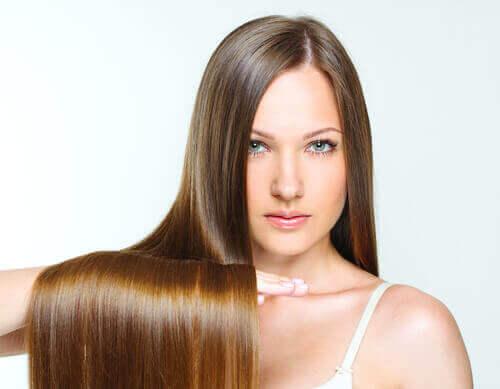 Steil haar wordt beschouwd als van nature prachtig
