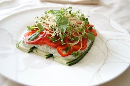 Alfalfa eten