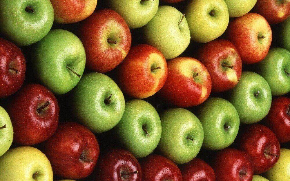 Buikvet verliezen: appels