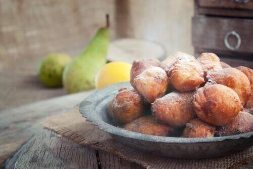 Suikervrije desserts zoals beignets