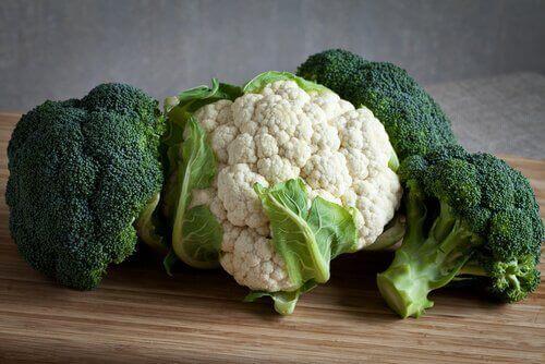 Kankerbestrijdende groenten en fruit: bloemkool
