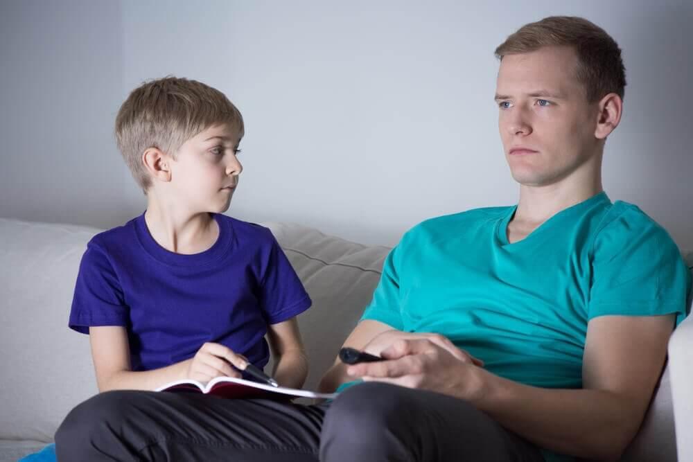 Afwezige ouders door onvolwassenheid