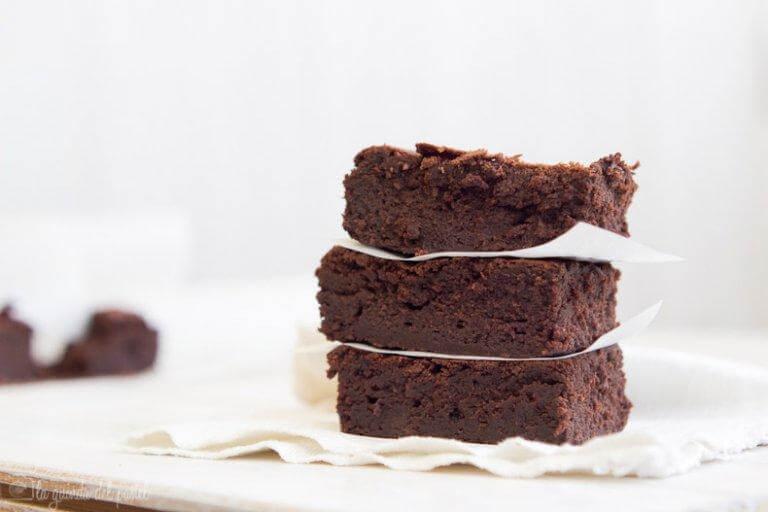 Avocado brownies als suikervrije desserts