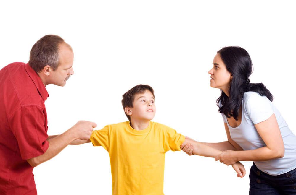 Afwezige ouders door een echtscheiding