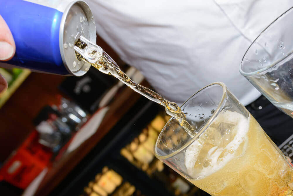 Energiedrank wordt bij alcohol geschonken