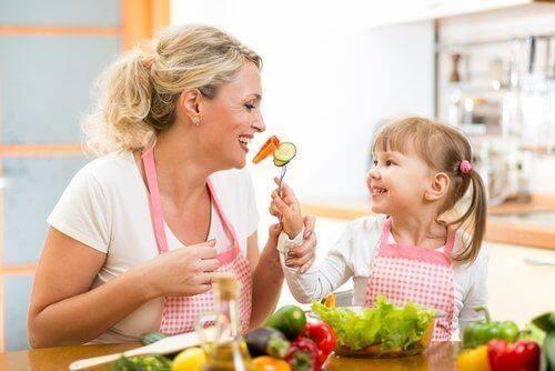 Samen koken om een voedselinname stoornis te voorkomen