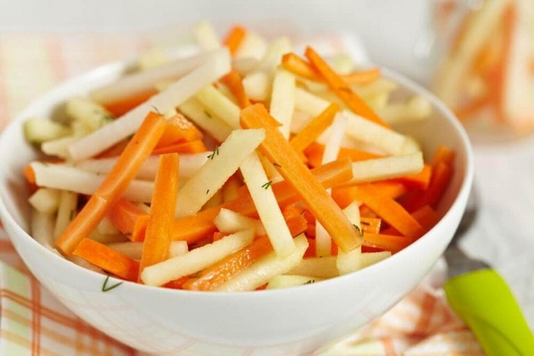 Vijf detox-salades voor het reinigen van de dikke darm