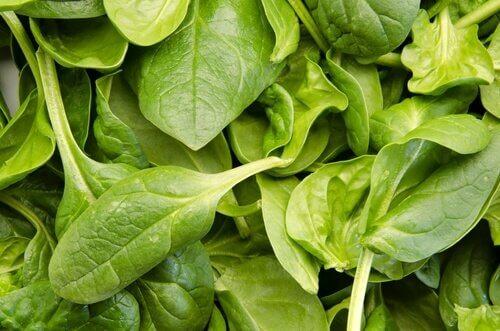 Kankerbestrijdende groenten en fruit: spinazie