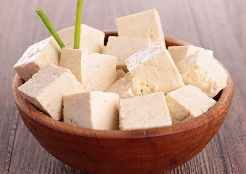 Buikvet verliezen: tofu