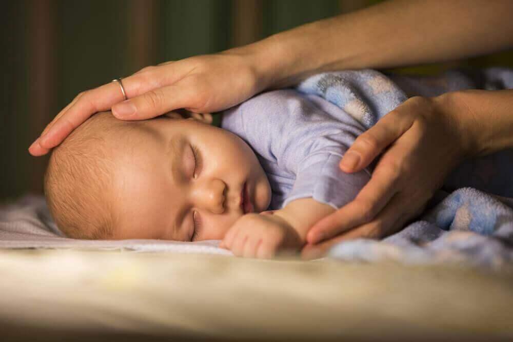 Het slaappatroon van zuigelingen