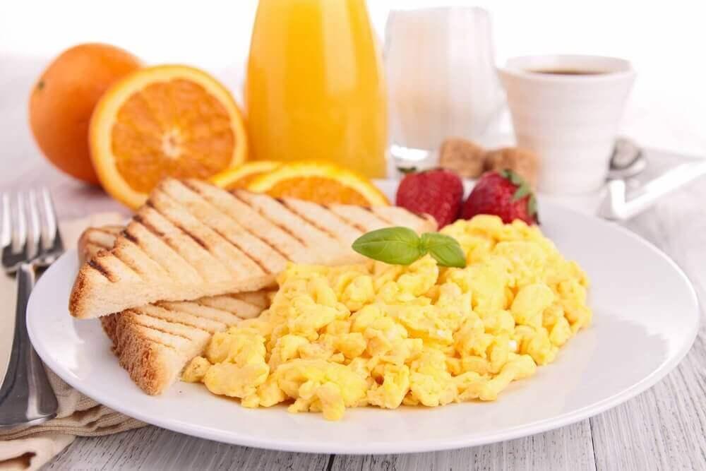 Met je ontbijt gewicht verliezen