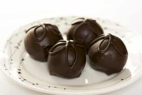 Gemakkelijke recepten voor chocoladetruffels