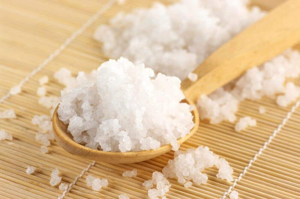 Epsom zout heeft een kalmerend effect op je voeten