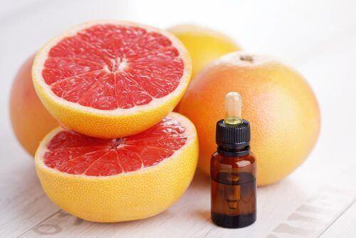 Etherische olie van grapefruit helpt je afvallen