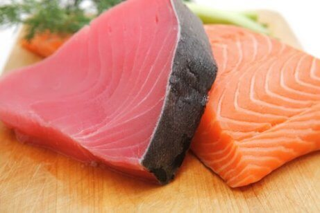 Zalm en tonijn
