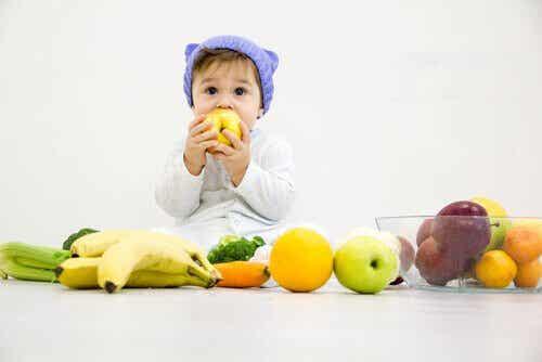 Geschikte fruitsoorten voor je baby