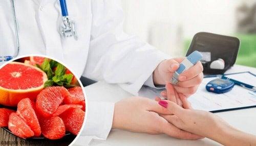 Kun je diabetes voorkomen door het eten van grapefruit?