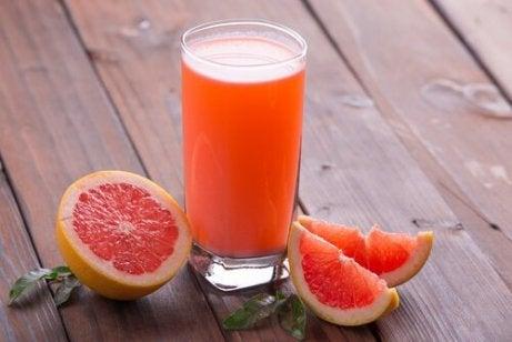 Diabetes voorkomen met grapefruitsap